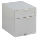 Bisley Wave Mobile Pedestal A4W Stationery and File Drawer 495H Silver WVA59MSF-RN
