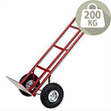 Sack Truck P-Handled Pneumatic Wheels Capacity 200kg PHPTST Barton