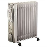 Oil Filled Mobile Radiator with Digital Thermostat