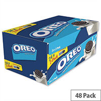 Oreo Mini Biscuits Individually Wrapped Twin Minipack Pack 48