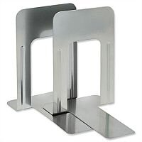 Giant Silver Bookends Metal Pack 2