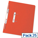 Foolscap Spiral Transfer Spring File Red 32mm Pack 25 Elba Boston