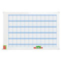 Nobo Performance Planning Board Annual Grid Magnetic Drywipe W900xH600mm Ref 3048001