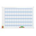 Nobo Performance Planning Board Annual Grid Magnetic Drywipe W900xH600mm Ref 3048001