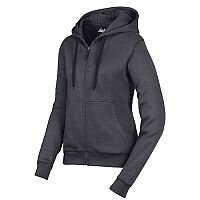 Snickers 2806 Women's Zip Hoodie Size M Steel Grey