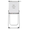 Nobo Scirocco Swivel Non-Magnetic Flipchart Easel Extending Display Arms
