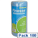 Finesse Professional All-purpose Cloths Roll 100 Blue W230xL500 7076