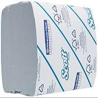 Kimberly Clark Scott White 2 Ply Bulk Pack Toilet Paper Tissue Refills 36 Sleeves 300 Sheets per Sleeve 8577