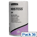 Hostess Toilet Tissue Rolls 2 Ply Pack 36 Toilet Paper Rolls