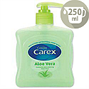 Carex Aloe Vera Liquid Soap Hand Wash 250ml 339865
