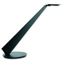 Dimmable Desk Lamp Asymmetrical Lense 4 x LED H200-630mm Black Unilux