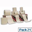 NCR Printer Rolls Thermal 1-ply Coreless W57xDiam30mm 10.6m Ref 800428 Pack 21