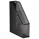 Mesh Magazine File Black Scratch Resistant Osco