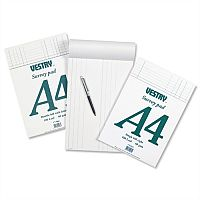 Survey and Engineering Pad Double Bill Headed with Feints 100 Sheets A4 CV5066 Vestry
