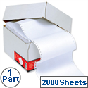1 Part Listing Paper Plain 216mm 60gsm 2000 Sheets 5 Star