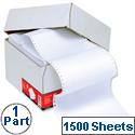 1 Part Listing Paper A4 Plain 90gsm 1500 Sheets 5 Star