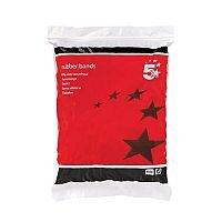 5 Star Rubber Bands No.36 127x3mm 454g Bag