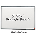 Whiteboard 1200 x 900mm 5 Star