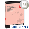 5 Star A4 Pink 80gsm Multifunctional Paper Ream of 500 Sheets