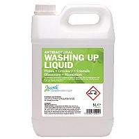 2Work Anti-Bacterial Washing Up Liquid 5 Litre 2W04022
