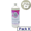 2Work Pink Pearlised Hand Soap 750ml Pack of 8