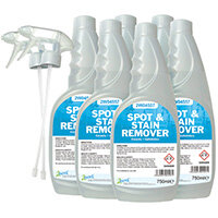 2Work Carpet Spot/Stain Remover 750ml Pack of 6 442