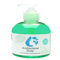 2Work Antibacterial Pump Hand Soap 300ml (Pack of 6) 2W30037
