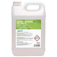 2Work Washing Up Liquid Lemon 5 Litre Pack 1