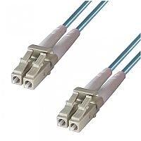 Group Gear 1M Lc-Lc Mm Duplex Fibre Leads Aqua 3-DX-LC-LC-1-AA