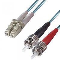 Group Gear 3M Lc-St Mm Duplex Fibre Leads Aqua 3-DX-LC-ST-3-AA