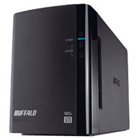BUFFALO DriveStation Duo USB 3.0 Hard Drive array 2 x 4 TB HDD SATA 3Gb/s