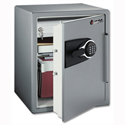 Sentry Fire Water and Security Office Safe Electronic 1hr UL/ETL-rated 56.6 Litre W472xD491xH603mm