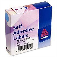 Avery 24-509 Label Dispenser for Diam.19mm Blue 1120 Labels