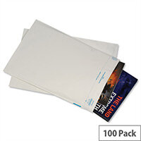 KeepSafe Opaque W260xH380mm Super Strong Polythene Protective Envelopes Pack 100
