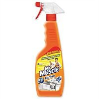 Mr Muscle Kitchen Cleaner Lemon Spray 500ml