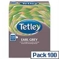 Tetley Tea Bags String and Tag Earl Grey 100 Bags
