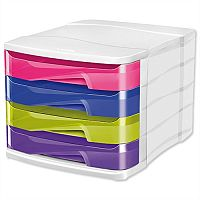 CEP Pro Happy 4 Drawer Module Multicoloured