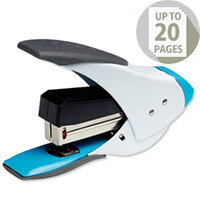 Rexel Easy Touch Stapler Quarter Strip White and Blue