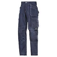 "Snickers Cotton Trousers Navy Waist 30"" Inside leg 30"" WW1"