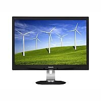 "Philips Brilliance B-line 240B4QPYEB LED Computer Monitor 24"" 1920x1200 at 60Hz"