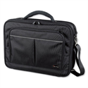 Lightpak Executive Laptop Bag Padded Muti-section Nylon Capacity 17in Black 46029