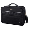 "17"" Laptop Bag Padded Black Nylon Lightpak Arco"