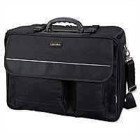 "Overnight Pilot Case Detachable 17"" Laptop Sleeve Black Nylon Lightpak The Flight"