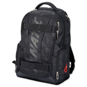 Fanatic Hawk Laptop Backpack Padded Nylon Capacity 17in Black 24603