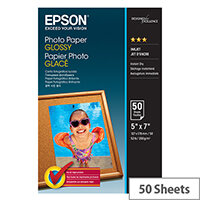 Epson Glossy Photo Paper 50 Sheets