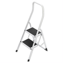 Safety Steps Folding Safety Rail H0.5m 2 Treads Capacity 150kg H2.26m 4.9kg 4312-001