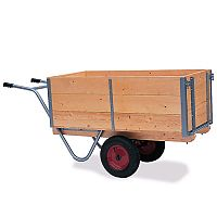 Balanced General Purpose Trucks Tall Side And Handle At One End Capacity 250kg SY329178