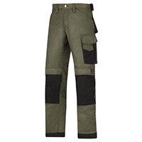 "Snickers DuraTwill Trousers Green Waist 30"" Inside leg 30"" WW1"