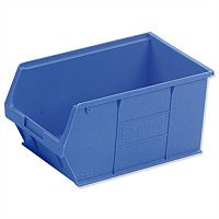 TC5 Container Bin Heavy Duty Polypropylene W350xD205xH182mm Blue Pack 10