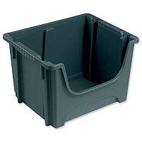 Stackable Storage Bin 50 Litres Grey
